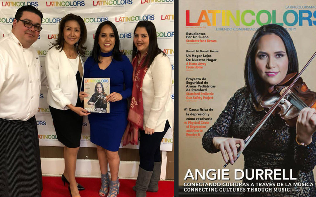 ANGIE DURRELL at LATINCOLORS 16th Edition