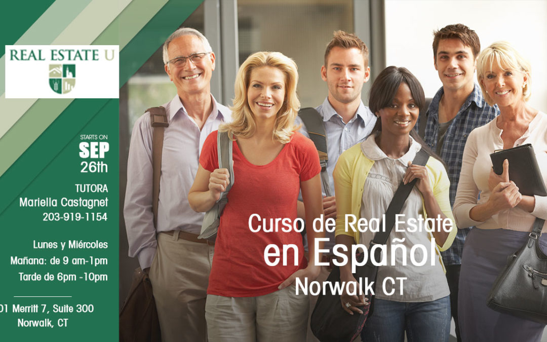 Curso de Real Estate en Español – Norwalk CT