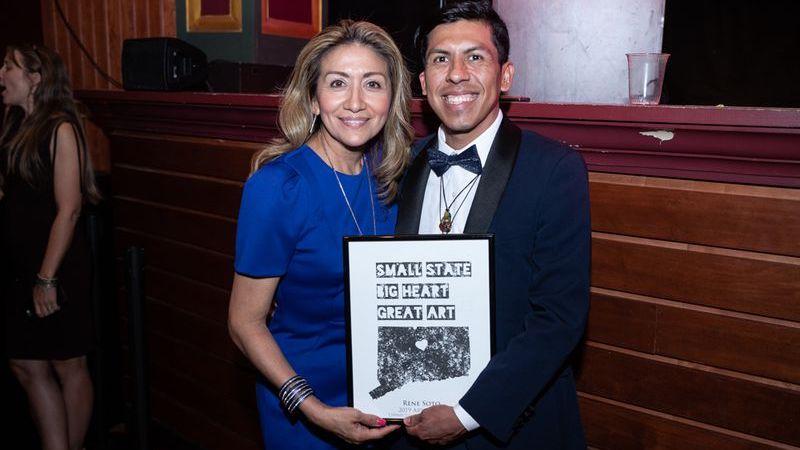 Rene Soto Honored with CT Arts Hero Award