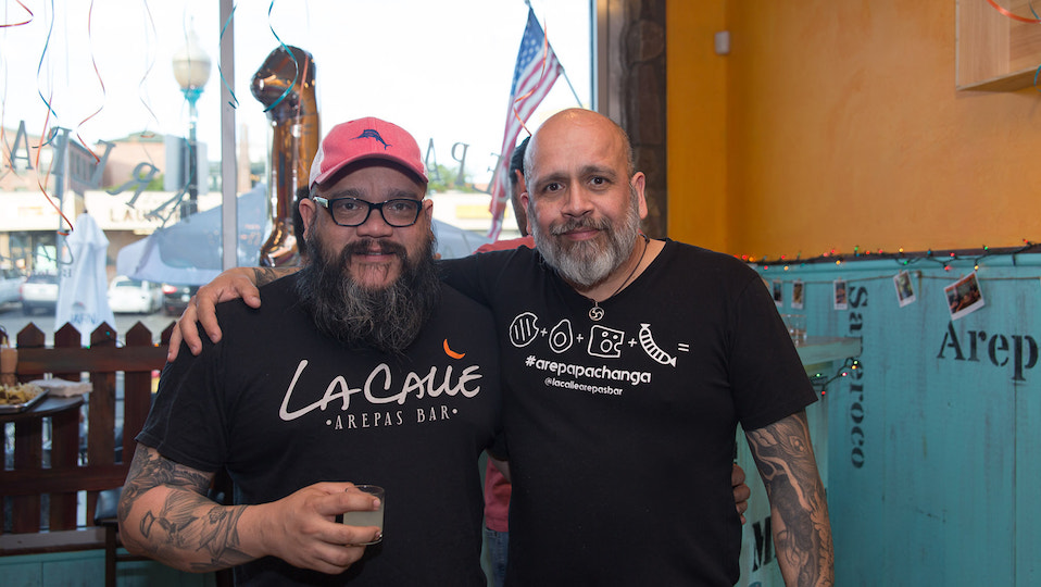 La Calle Arepas Bar Turns 1