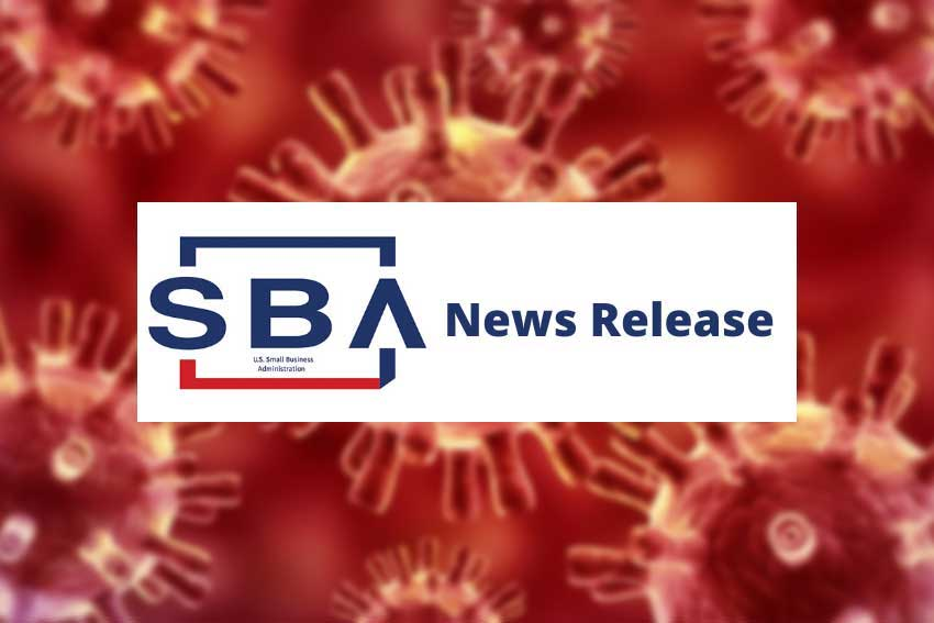 SBA News Release Coronavirus Disaster Loan Assistance