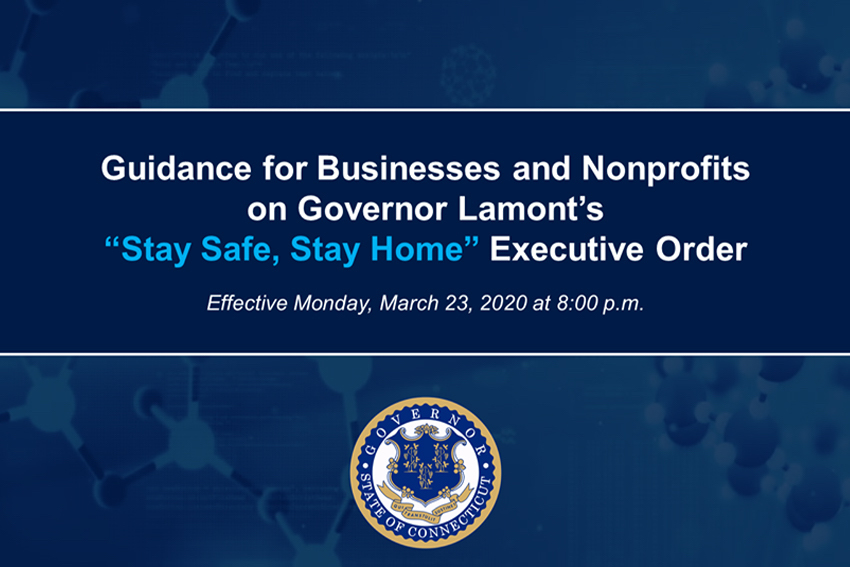 "Guidance for Businesses on ""Stay Safe, Stay Home"""