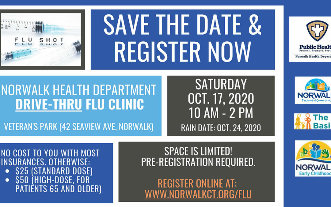 NHD Drive-Thru Flu Clinic: OCT17