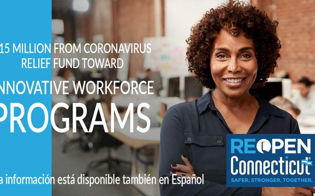 $15 Million From Coronavirus Relief Fund Toward Innovative Workforce Programs