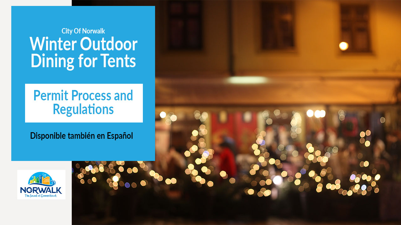 Winter Outdoor Dining for Tents