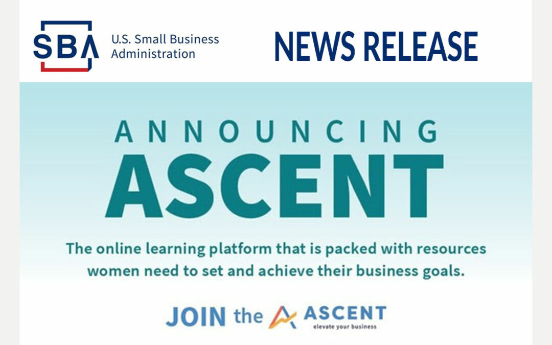 SBA Launches Ascent