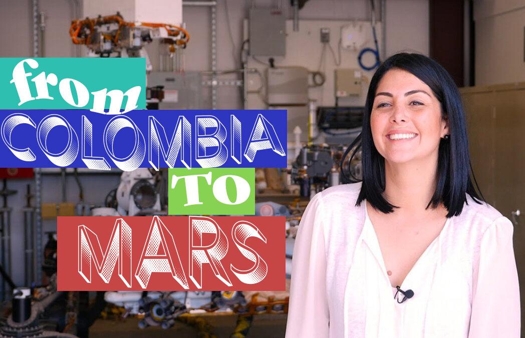 Diana Trujillo: de limpiar casas a pieza clave de la misión a Marte