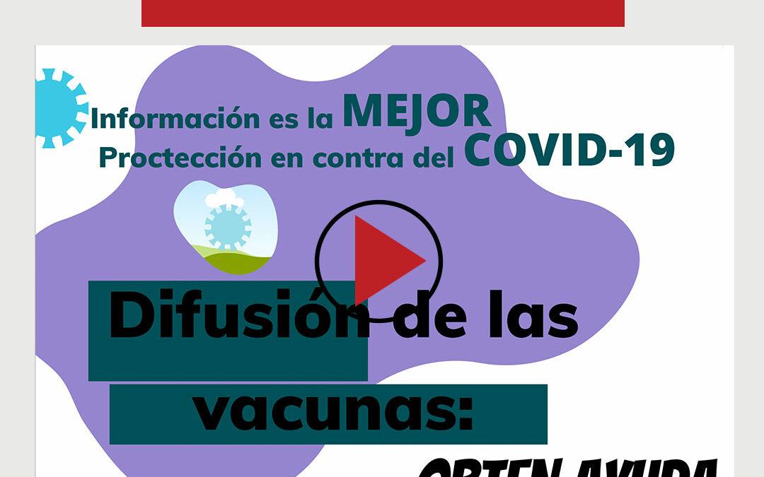 Get answers about the COVID-19 vaccine / Obtén respuestas sobre la vacuna contra el COVID-19